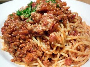 Simple &amp; Tasty Gluten Free Spaghetti Bolognese