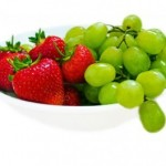 ½ cup of berries or grapes = 1 Serve