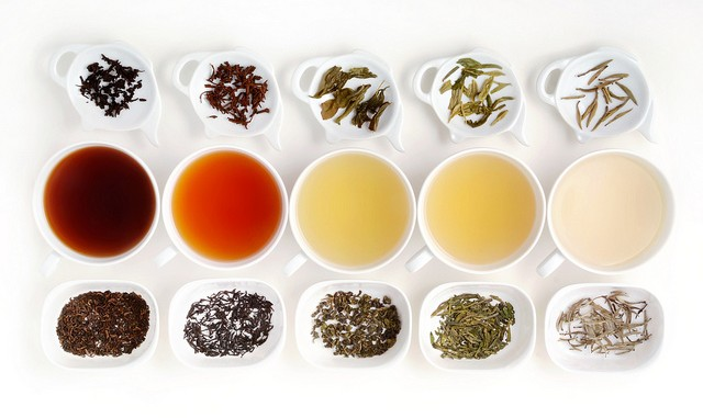 Different type of Teas