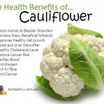 10 Health Benefits of Cauliflower.