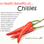 10 Health Benefits of Chillies.