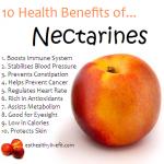 10 Health Benefits of Nectarines.