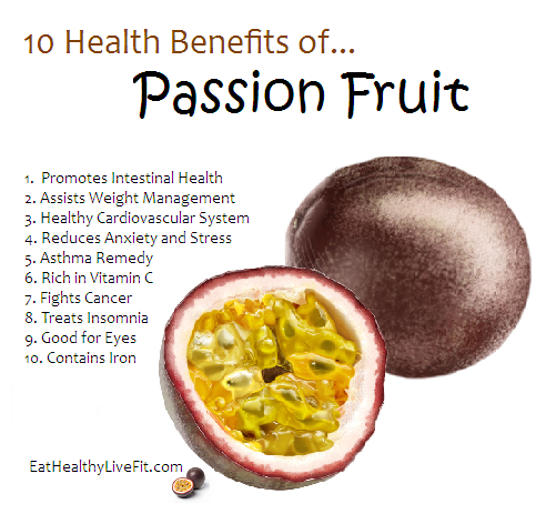 is passion fruit healthy fruit lady