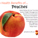 10 Health Benefits of Peaches.