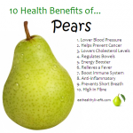 10 Health Benefits of Pears.