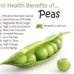 10 Health Benefits of Peas.