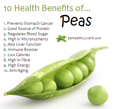 are peas a fruit healthy fruit crisp