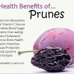 10 Health Benefits of Prunes.