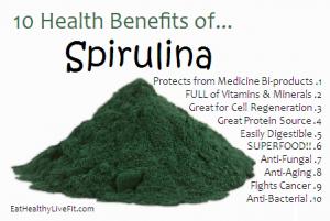 10 Health Benefits of Spirulina.