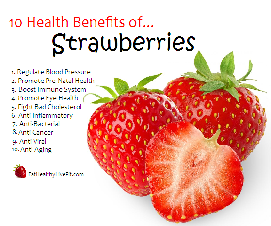 fruits that are healthy is a strawberry a fruit