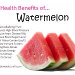 10 Health Benefits of Watermelon.