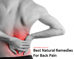 Best Natural Remedies for Back Pain