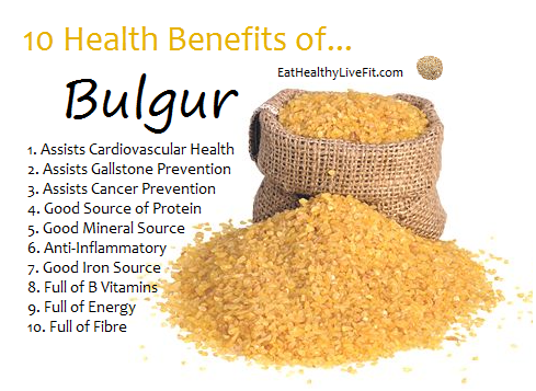 Bulgur Wheat Health Benefits