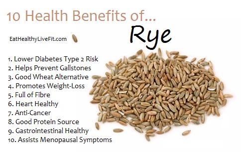 Is rye flour healthy