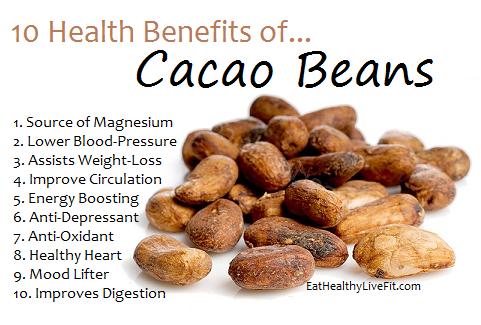 Cacao Beans - eathealthylivefit.com