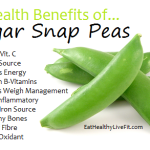 Sugar Snap Peas - eathealthylivefit.com