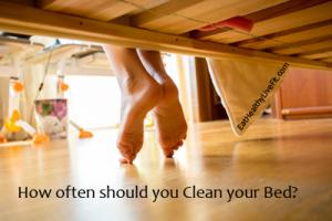 Clean Under Bed - EatHealthyLiveFit.com