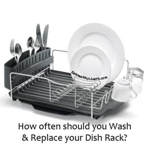 Dish Rack - EatHealthyLiveFit.com