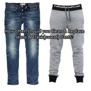 Jeans Track Pants - EatHealthyLiveFit.com