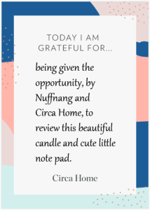 Gratitude Note Pad ME - EatHealtyLiveFit.com