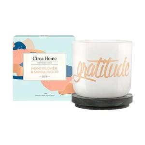 Honeyflower & Sandalwood Candle EatHealthyLiveFit.com