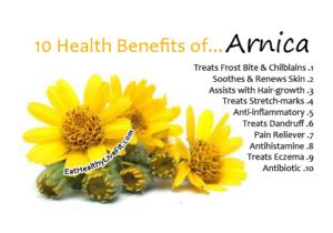 arnica skin benefits