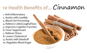 Cinnamon - EatHealthyLiveFit.com