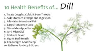 Dill - EatHealthyLiveFit.com