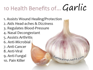 Garlic - EatHealthyLiveFit.com